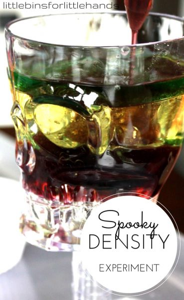 Spooky Science Density Experiment