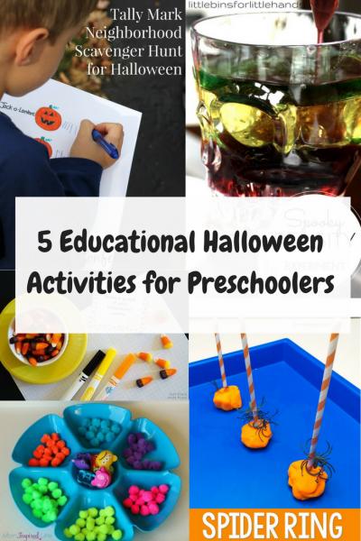 Educational Halloween Activities for Preschoolers