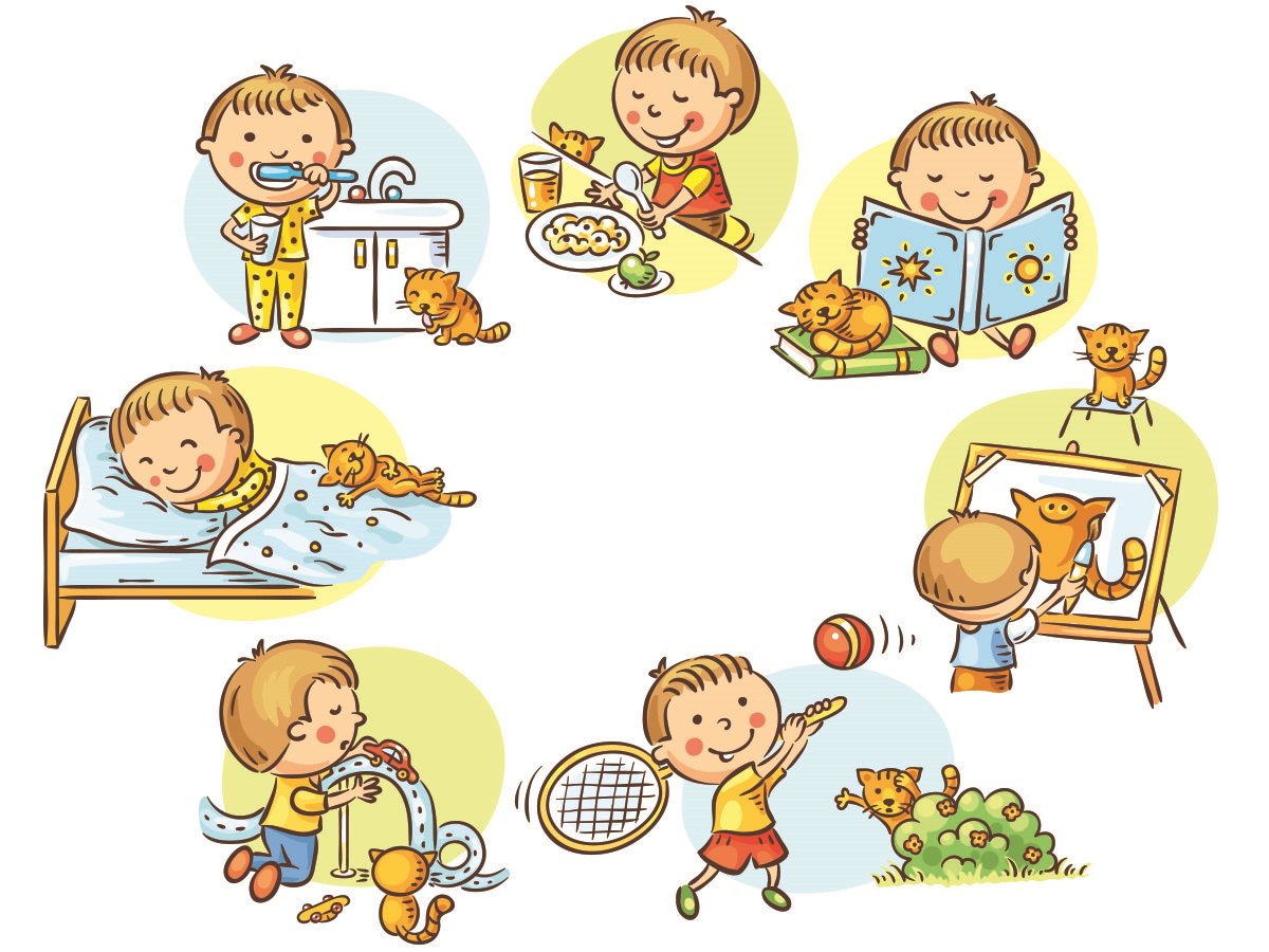 routine for kids